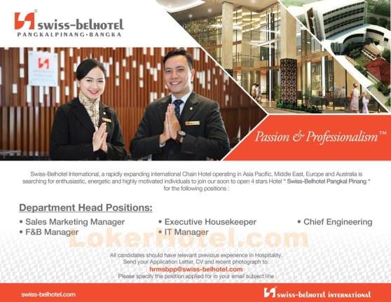 Swiss-Belhotel Pangkal Pinang -- Pre Opening