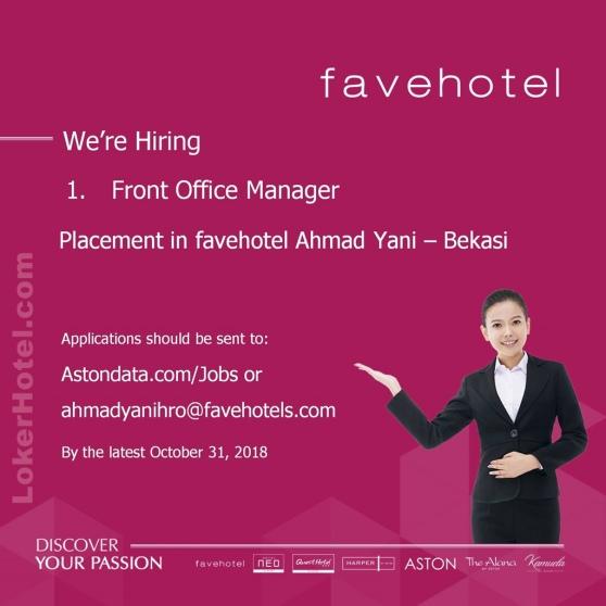 Fave Hotel Ahmad Yani Bekasi