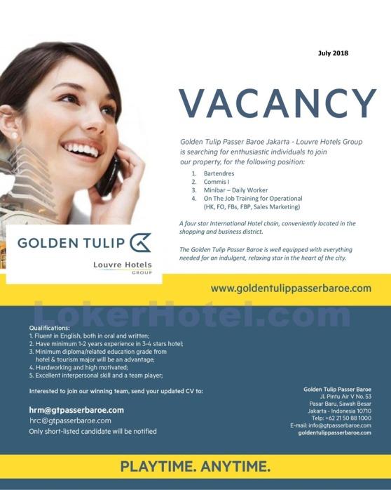 Golden Tulip Passer Baroe Jakarta