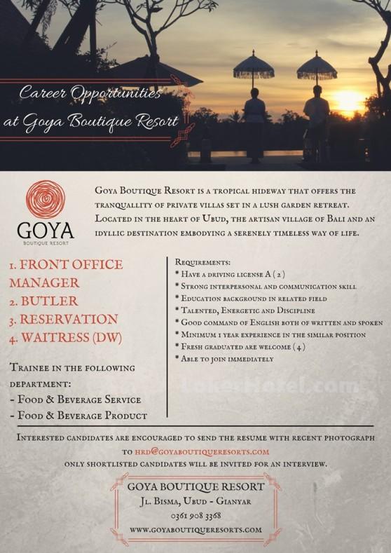 Goya Boutique Resort Ubud