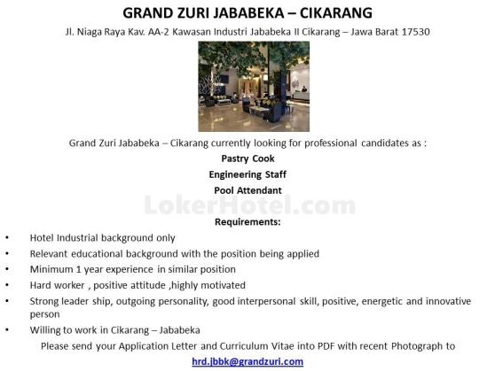 Grand Zuri Jababeka
