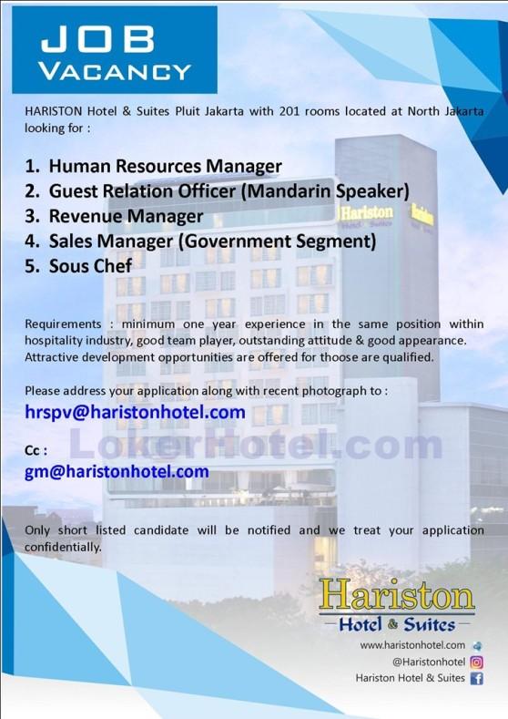 HARISTON Hotel & Suites Pluit Jakarta