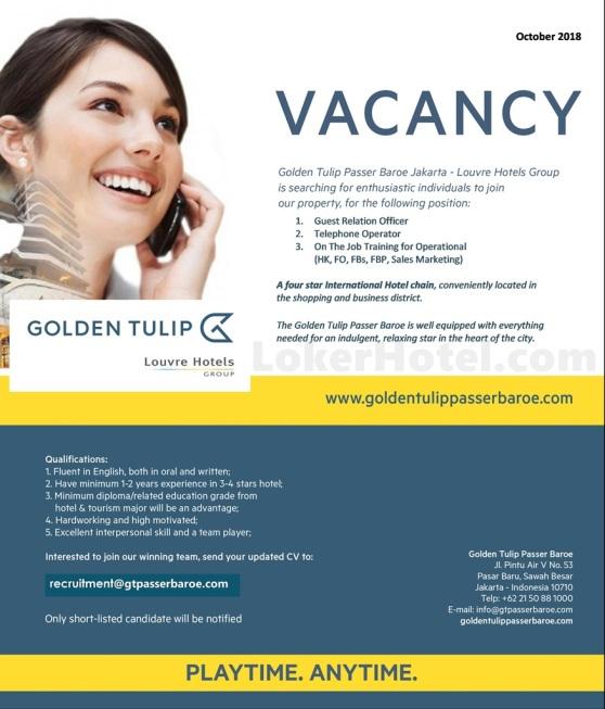 Hotel Golden Tulip Passer Baroe Jakarta