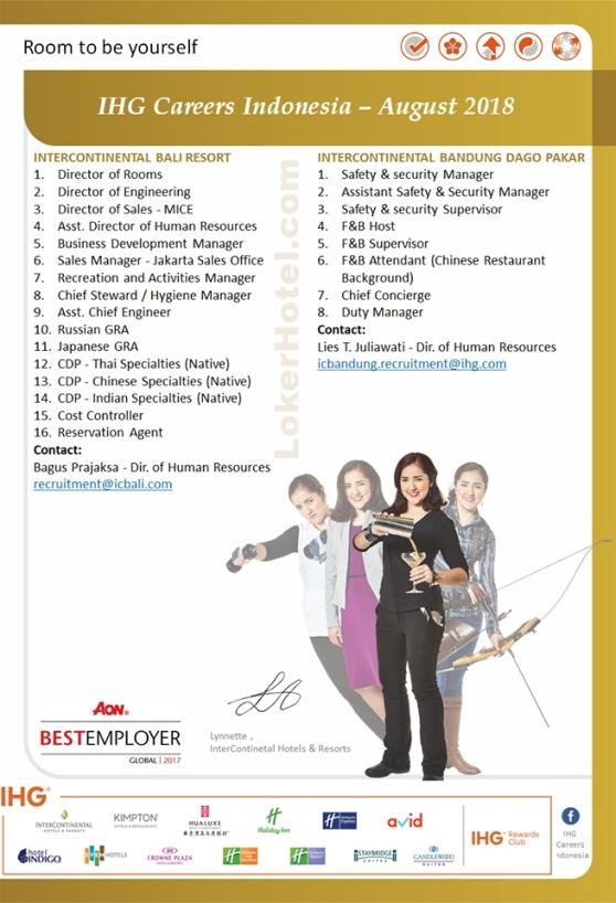 InterContinental Bali Resort & Bandung Dago Pakar