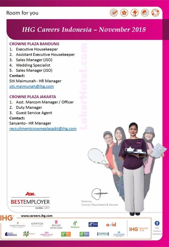 Crowne Plaza Bandung & Jakarta