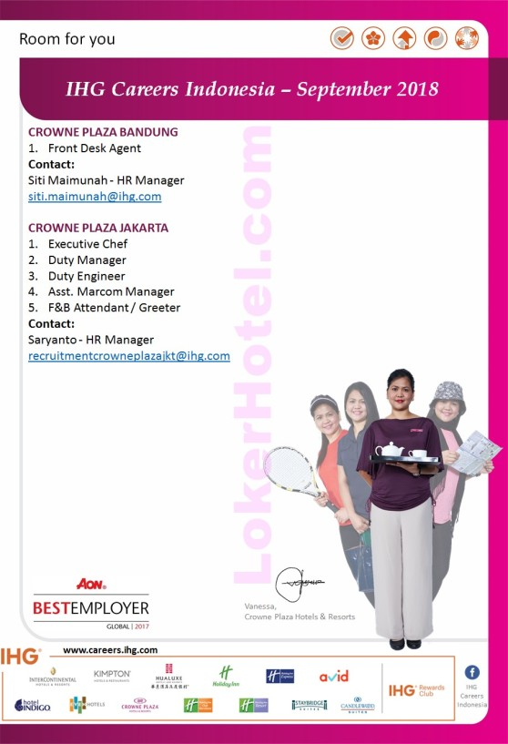 IHG Careers Indonesia - September 2018