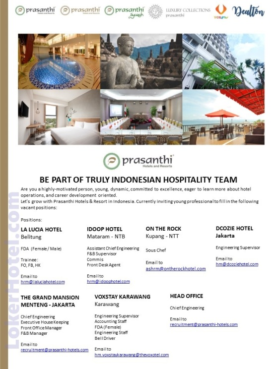 Prasanthi Hotels & Resorts