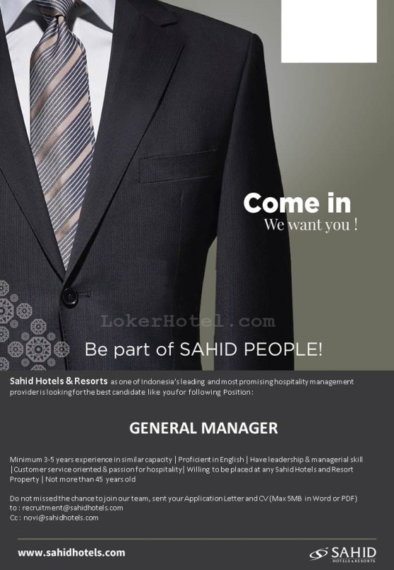 PT Sahid International Hotels Management & Consultant