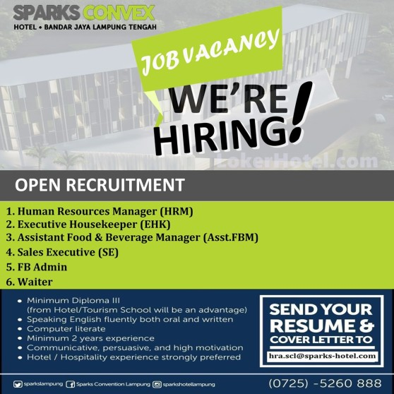 Sparks Convex Hotel Lampung