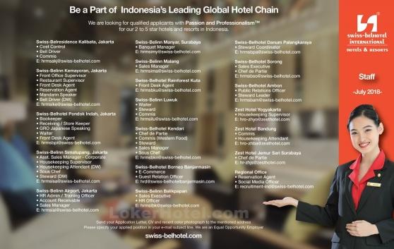 Swiss-Belhotel International — Staff