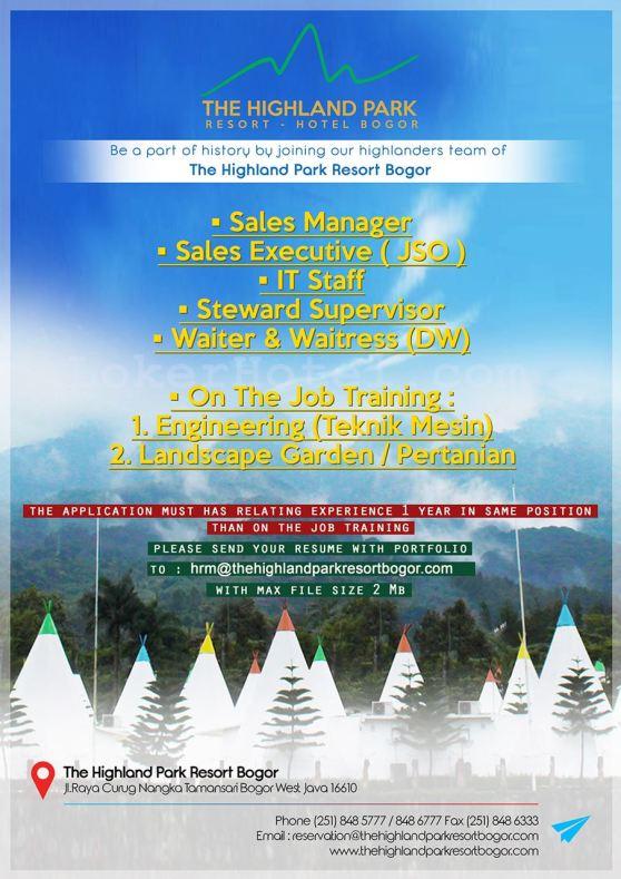 The Highland Park Resort Hotel Bogor