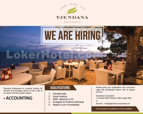 Tjendana Restaurants Bali