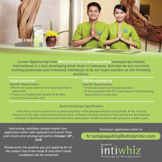 Whiz Prime Hotel Kelapa Gading