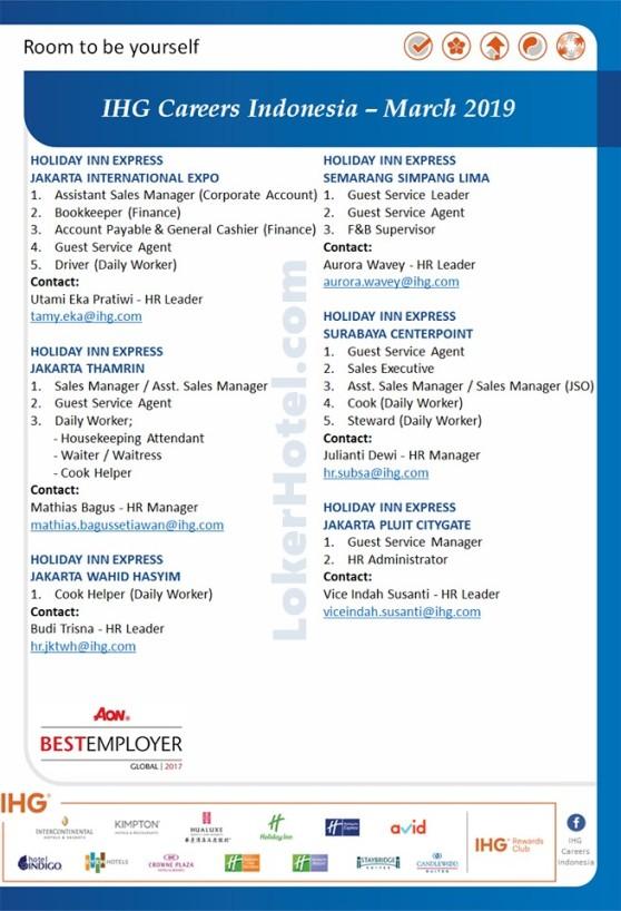 Holiday Inn Express Jakarta, Semarang, & Surabaya