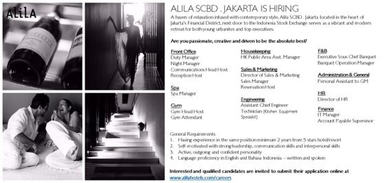 Alila SCBD Jakarta