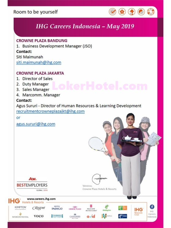 IHG Careers Indonesia May 2019 - LokerHotel com