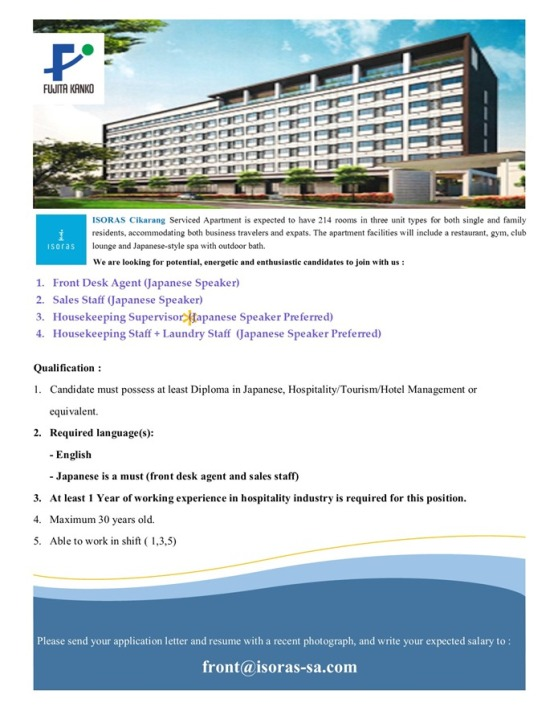 ISORAS Cikarang Serviced Apartment