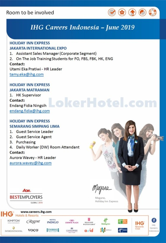 Hoilday Inn Express Jakarta, & Semarang