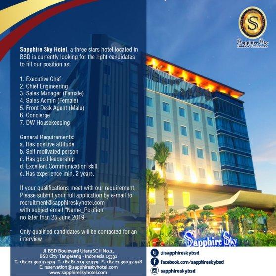 Sapphire Sky Hotel BSD Tangerang