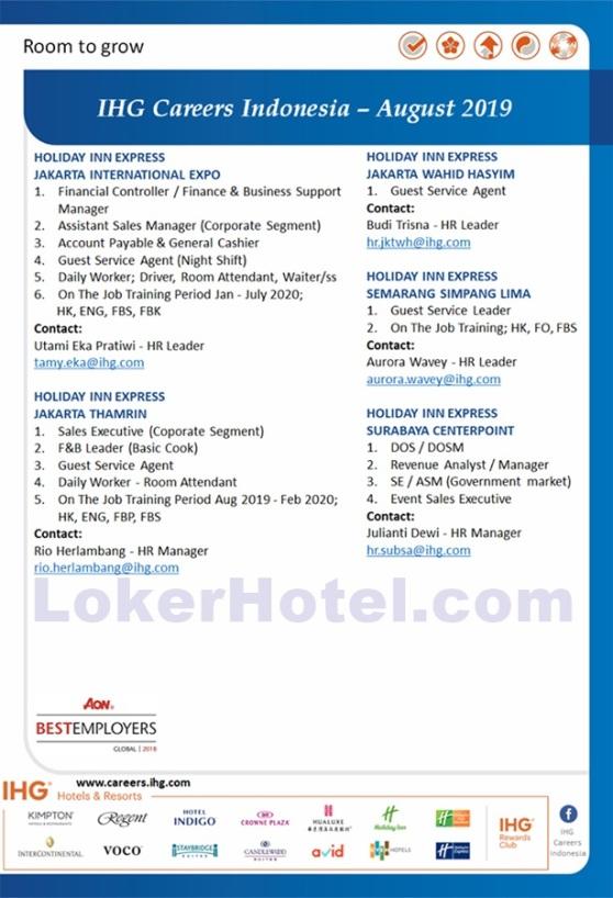 Holiday Inn Express Jakarta, Semarang, and Surabaya