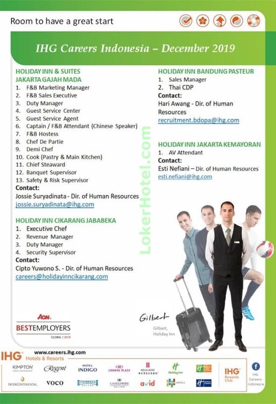 IHG Careers Indonesia December 2019