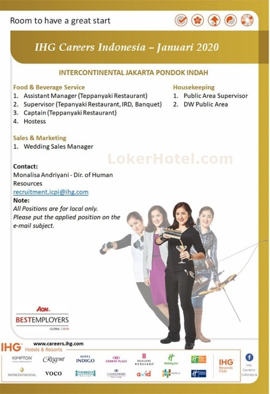 IHG Careers Indonesia January 2020